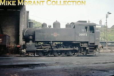A final visit to Guildford on June 18th 1967 elicited this view of dead USA 0-6-0T No. 30072.