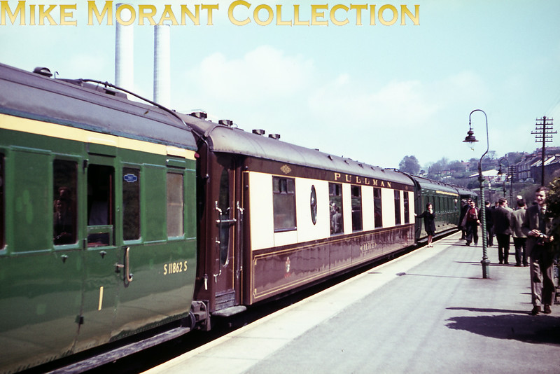 LCGB: The PUL/PAN Farewell Rail Tour 24/4/66. The 6-Pul unit used throughout this tour was no. 3041 and depicted here is its Pullman car ALICE.