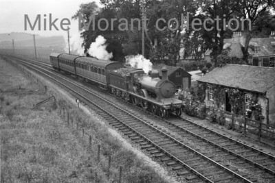 Former GNSR D41 class 4-4-0 no. 6824 at Inverurie in July 1939. [S. H. Freese / Mike Morant collection]