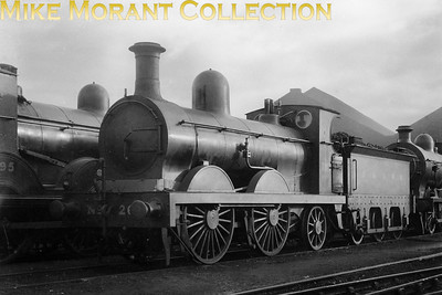 Glasgow & South Western Railway no. 263 was a Manson designed 224 class 0-4-2 that was built in the GSWR's Kilmarnock workshops and entered service in 1902. Once in LMSR stock it was renumbered to 17066 and in common with all this company's locomotives was consigned to an early demise in November 1931.