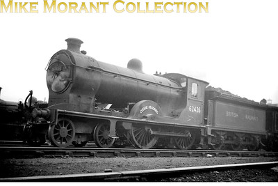 NBR Reid designed D30 'Scott' class 4-4-0 no. 62426 Cuddie Headrigg of 1914 vintage. From 1950 until withdrawal in June 1960 62426 was a Stirling allocated engine. [Mike Morant collection]