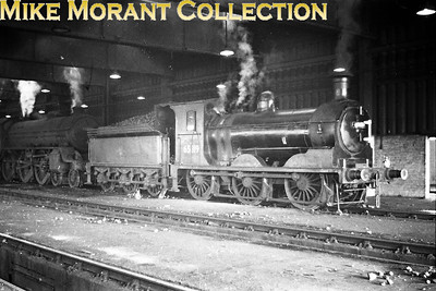 Former NBR Holmes designed J36 class 0-6-0 no. 65319 inside Bathgate shed. 65319 was a Dundee Tay Bridge engine until December 1965, moved to Bathgate until August 1966 and ended its days at St. Margaret's in the following month. [Mike Morant collection]