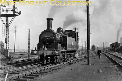 Immaculate Holmes J83 class 0-6-0T no. 68472 at Craigentinny. [Mike Morant collection]
