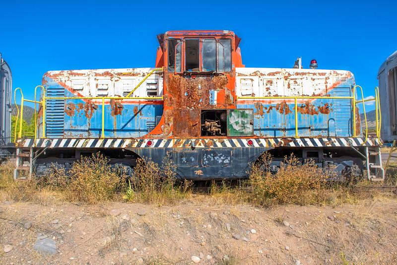 White Satin Brighton 44 tonner #1 R.R. Engine