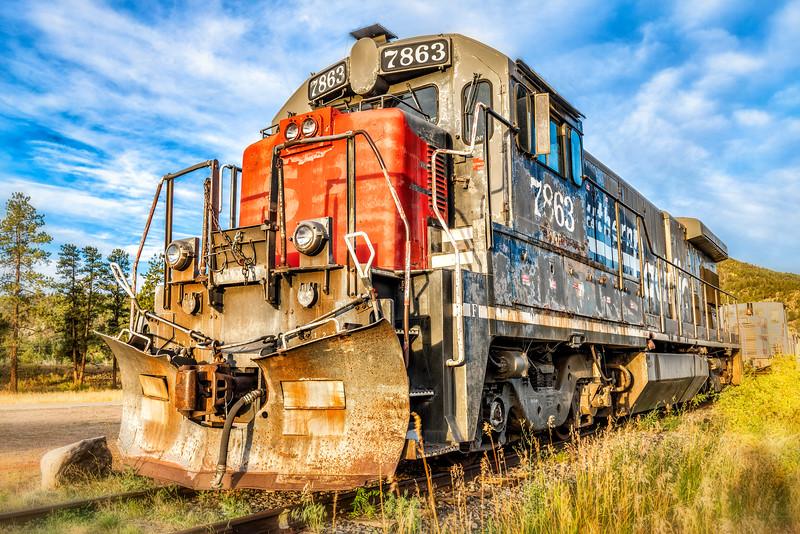 D&RG RR Engine No. 7863