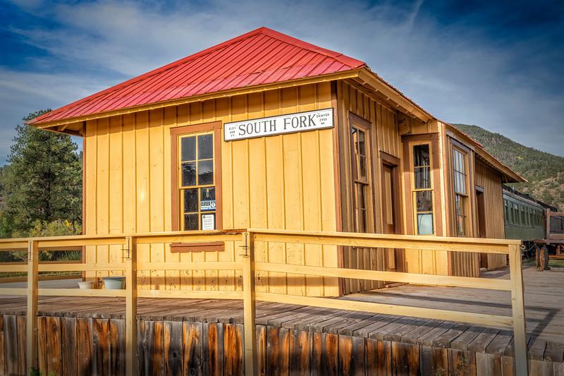 South Fork Train Station