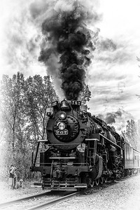 765 2016 Steam in the Valley 0667 BnW 1