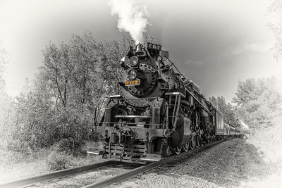 765 2016 Steam in the Valley 0860 BnW 1