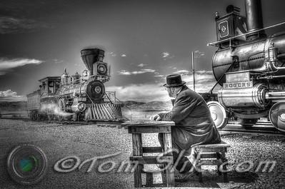 Trains @ Utah Promontory Point
