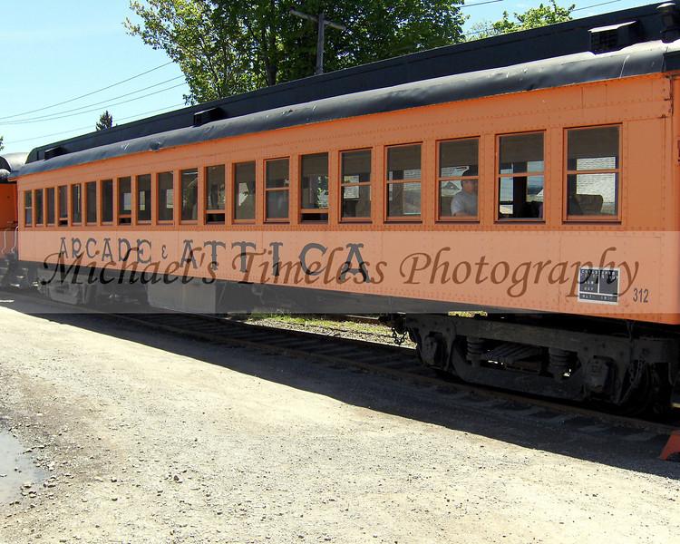A & A Passenger Car - 8 x 10