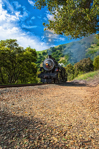 Niles Canyon Steam Train ride through the valley.