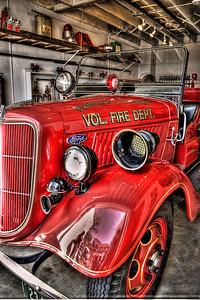 Old Firetruck in Fairhope, AL.