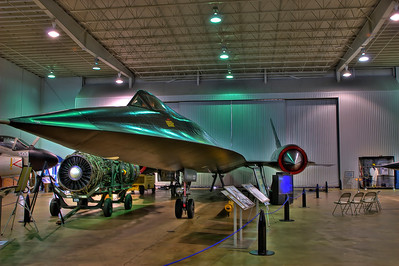 Lockheed A-12 in the Battleship Park Museum in Mobile Alabama.