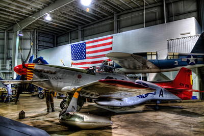 P-51 Mustang in the Battleship Park Museum in Mobile Alabama.