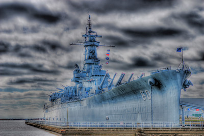 USS Alabama at Battleship Park in Mobile, Al.