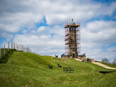 Regimental Memorial at Crich Stand