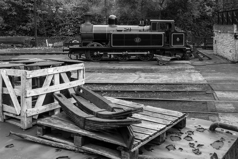 Taff Vale Railway Class 02 0-6-2T No. 85
