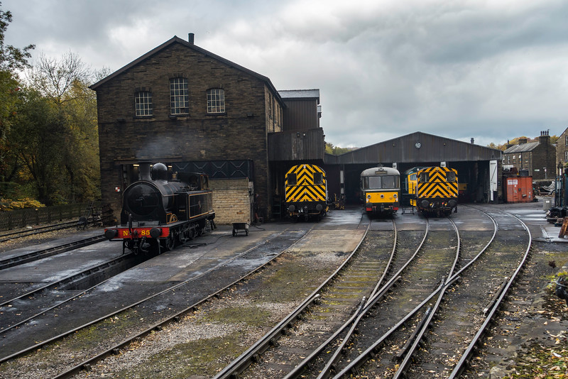 Haworth Yard, October 2016