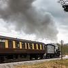 No. 5820 'Big Jim' (USATC S160 Class 2-8-0) leaving Oakworth