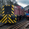 Ruston & Hornsby Diesel 0-4-0 Shunter 'James' at Ingrow West