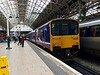 Class 150 at Manchester Piccadilly