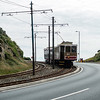Tramcar coming down into Douglas on the Manx Electric Railway