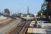 DSC_0291: The UPRR mainline goes left; the VCRR goes right. This is from the south end of the Oxnard platform.