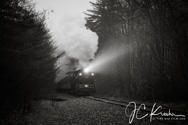 CNJ 113 Santa Train - Minersville, PA - December 2018