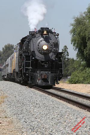 1927 A.T.& S.F Steam Locomotive 3751 April 2013.