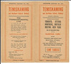 Temiskaming and Northern Ontario timetable January 6th 1929.