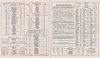 1953 October 25 Ontario Northland Railway Timetable - timetables motor bus, boat lines