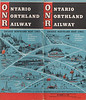 1953 October 25 Ontario Northland Railway Timetable front cover