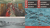 1953 October 25 Ontario Northland Railway Timetable - front and back covers