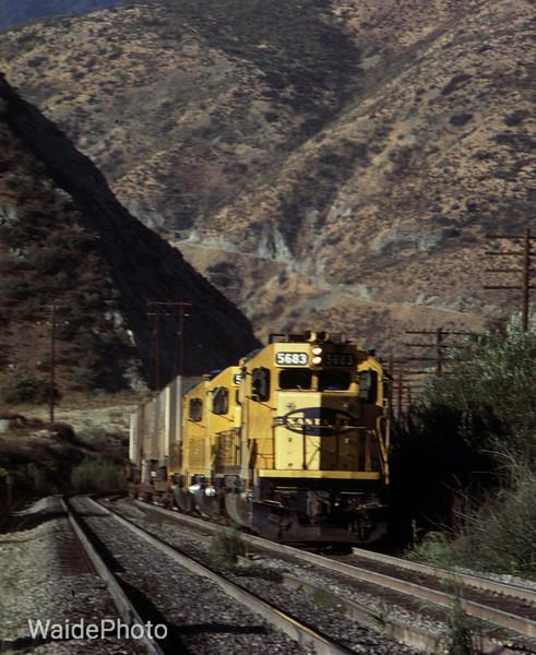 Cajon Pass, California 1982