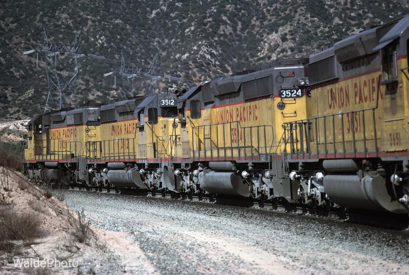 Cajon Pass, California 1978