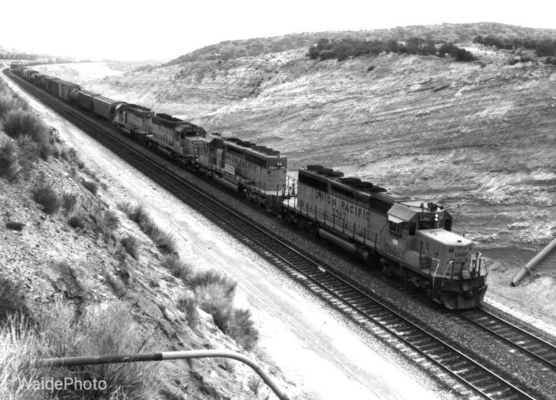 Cajon Summit, Cajon Pass, California 1980.