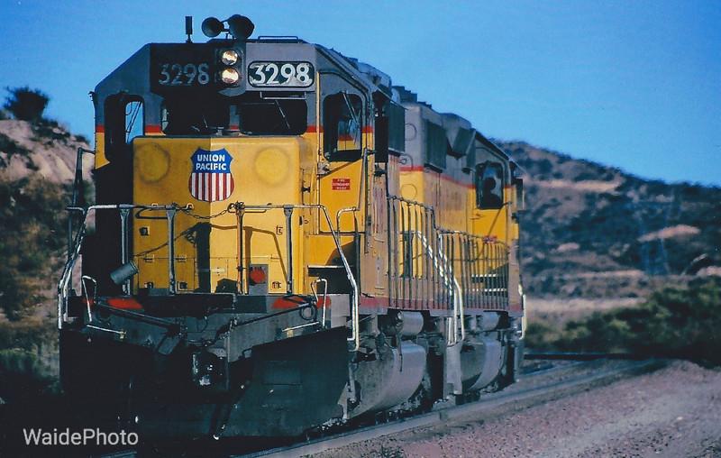 Cajon Pass, California 1980