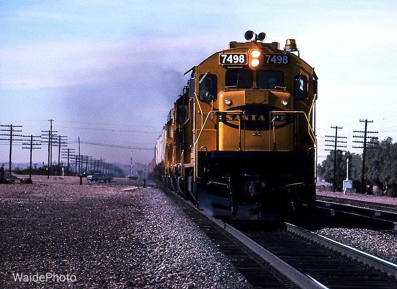 Daggett, California 1982