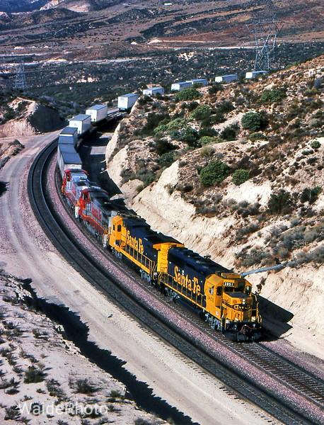 Cajon Pass, California 1992
