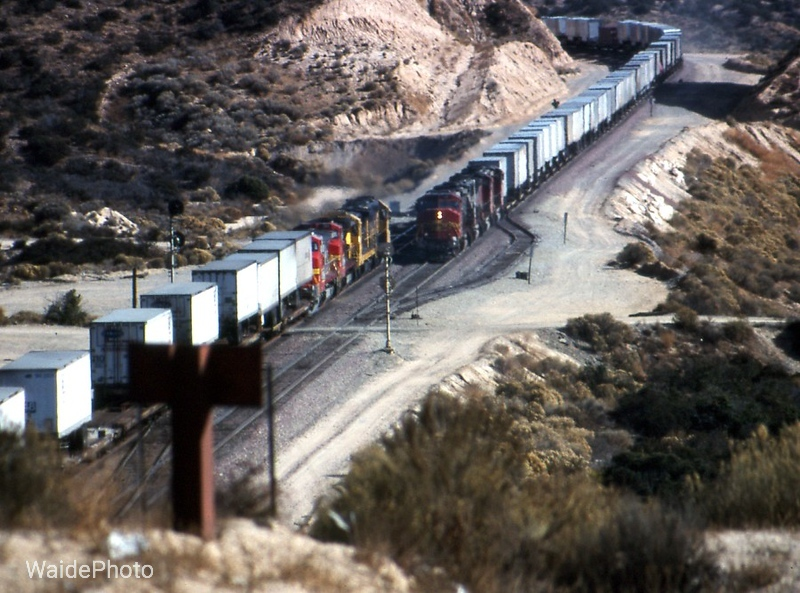 Cajon Pass, California 1993
