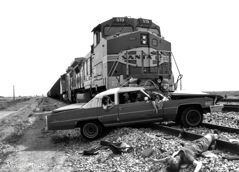 Kingman, Arizona 1994.<br /> <br /> Operation Lifesaver mock crash.