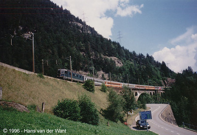 SBB - Wassen - 20-08-1996
