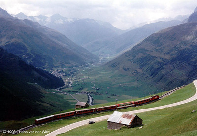 FO - Between Andermat and Oberalppass - 20-08-1996