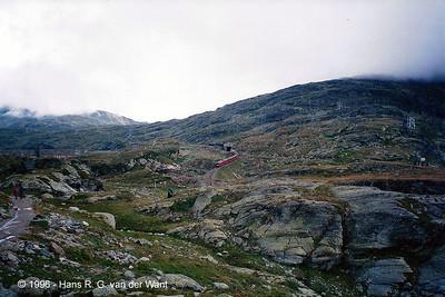 RhB - Bernina Pass - 27-08-1996