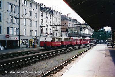 Rorschach-Heiden-Bahn, Rorschach, 30-08-1996