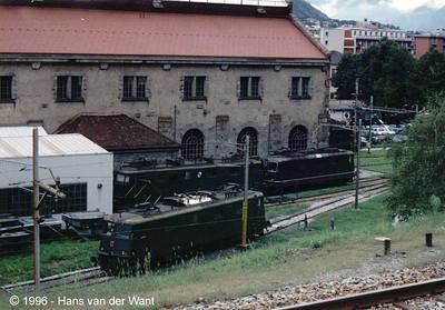 SBB - Bellinzona - 21-08-1996