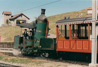 150 Years Swiss Railways - Viznau Rigi Bahn - 10 september 1997