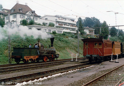 150 Years Swiss Railways - Küssnacht am Rigi - 9 september 1997