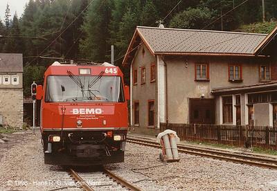 Preda, Albula Bahn, 08-1998