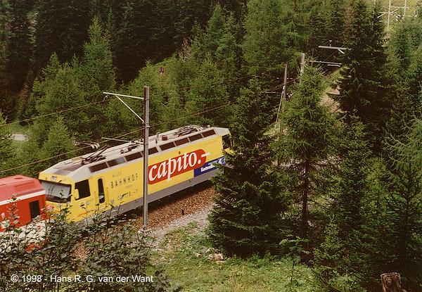 Albula Bahn, 08-1998